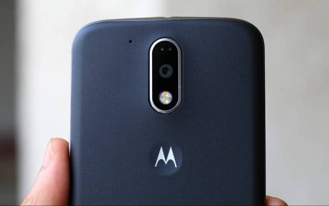 Motorola Moto G4 Plus back