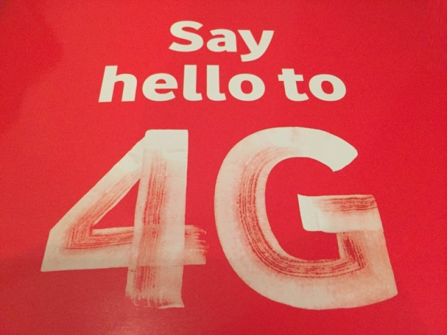 Vodafone 4G service