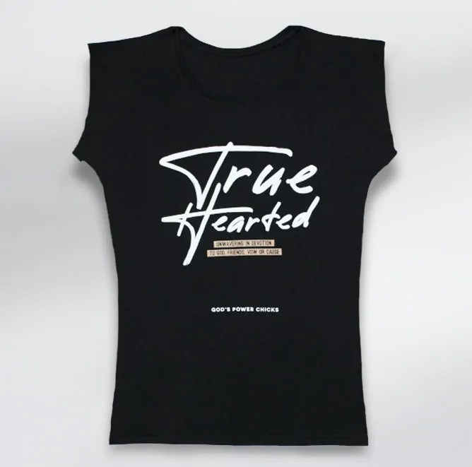 T-shirt True Hearted
