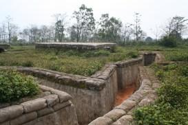 Schützengräben bei Khe Sanh