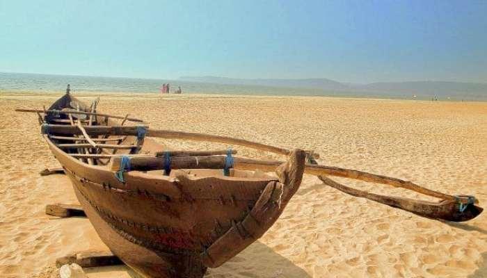 Altes Fischerboot - Velsao Beach - Goa - Indien