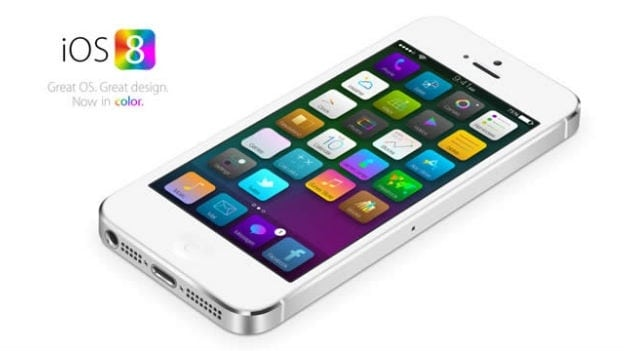 iOS8 Concept image