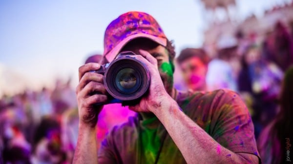 photography in holi