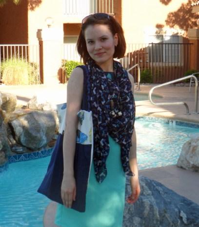 Casual colorblock dress 3