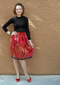 Red skirt 8
