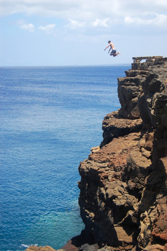 Cliff jumper small