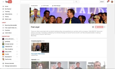 Fred YouTube Home Page