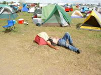 This is how to tent camp!!! - Harley Davidson Forums