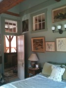 Your room with vaulted ceiling