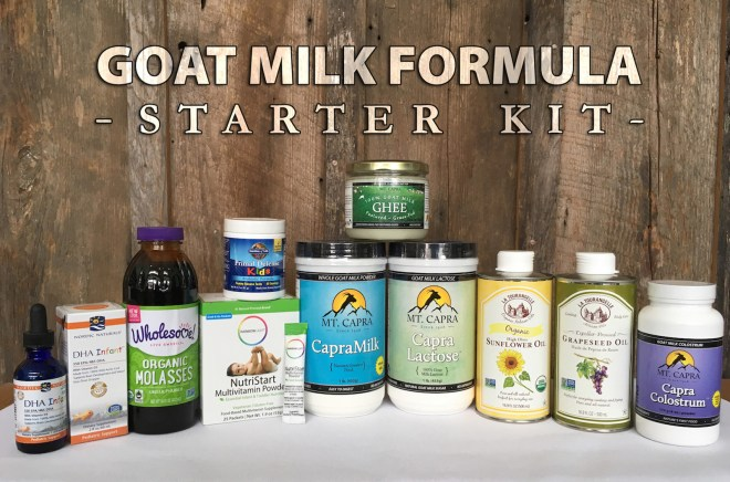 the infant formula recipe kit