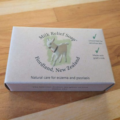 Boxed Soap Front