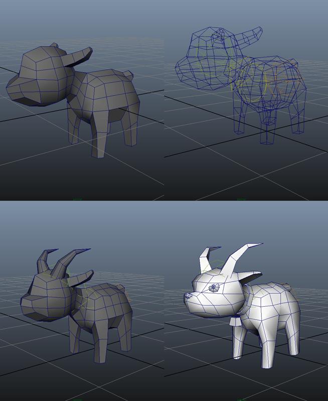 GoatPunk_Progression_GoatBaby