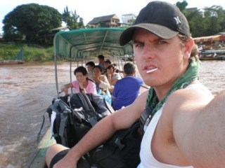 A Backpacker's Mission: The Thailand-Laos Border Crossing