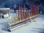 Photo Favorite: Giant Burning Incense Sticks