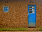 Photo Favorite: Blue Door in Rwanda