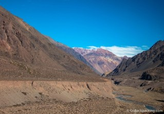 The Scenic Bus Ride from Mendoza to Santiago