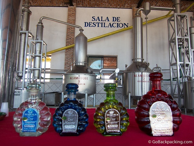 Organic tequilas by Tres Mujeres