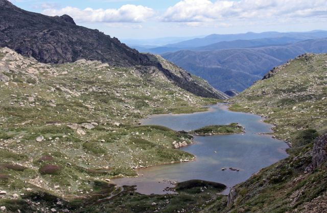 Lake Albinia in the Snowy Mountains