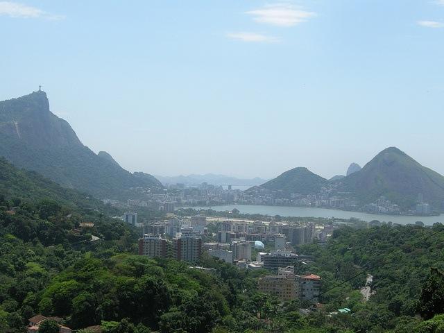 Landscape from Favela Rosinha