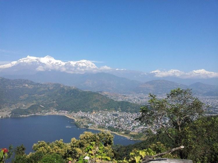 Nepal trekking, Annapurna Pokhara view