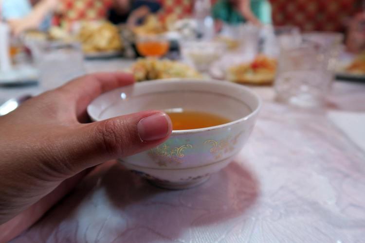 Tea before dinner