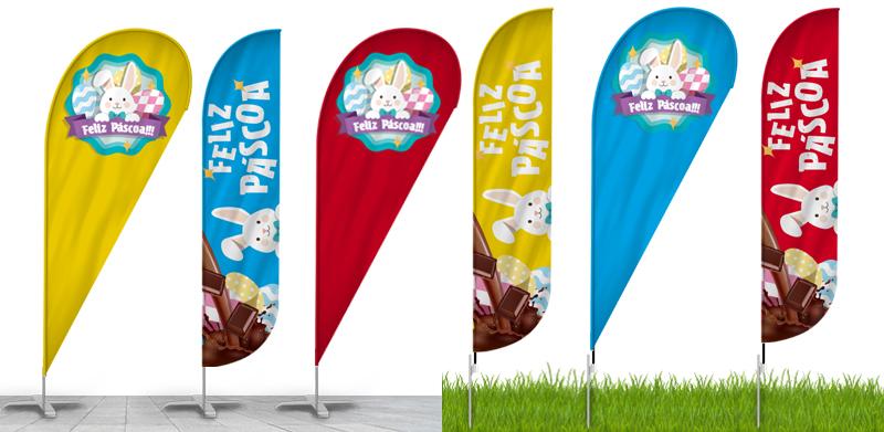 Wind banner para Páscoa