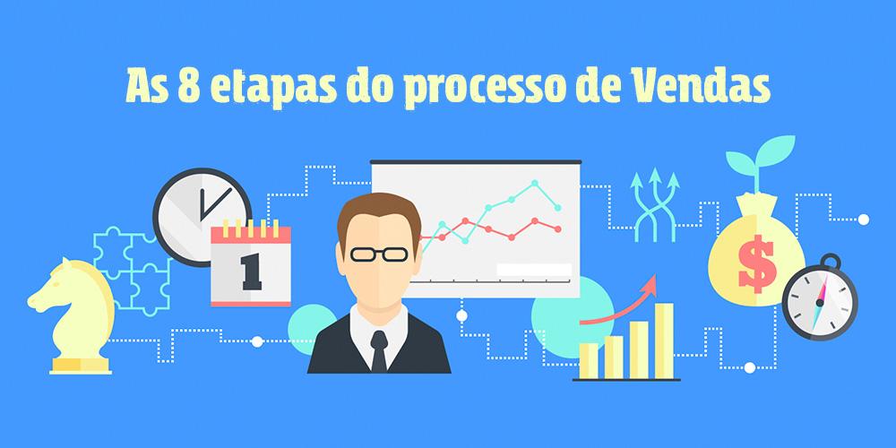 As 8 etapas do processo de vendas
