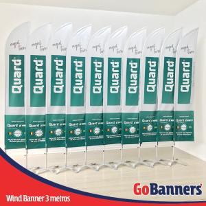 wind banner 3 metros aqui tem quard