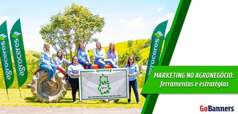 Marketing no Agronegócio usando Wind Banner