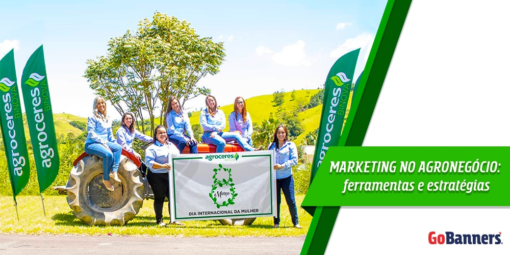 Marketing no Agronegócio usando Wind Banner