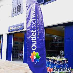 Wind Banner Outlet das Tintas