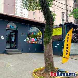 Wind Banner PetShop