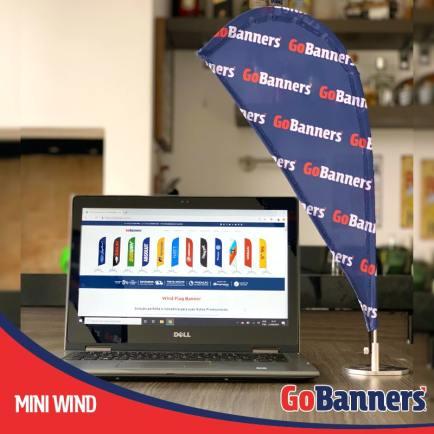 MINI WIND GO BANNERS
