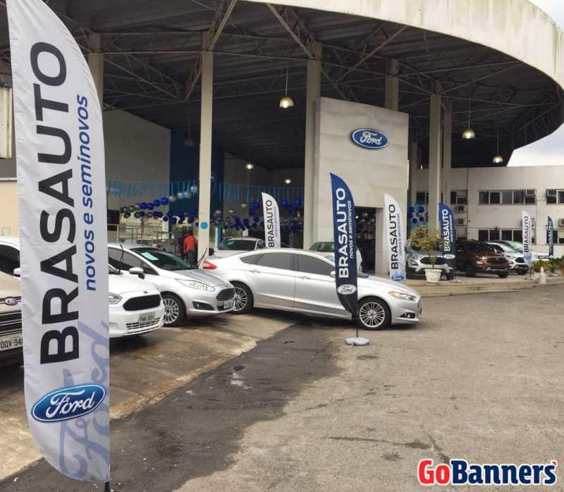 FLY BANNER FORD BRASAUTO