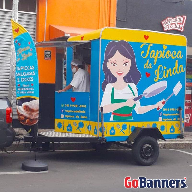 FLY BANNER TAPIOCA DA LINDA