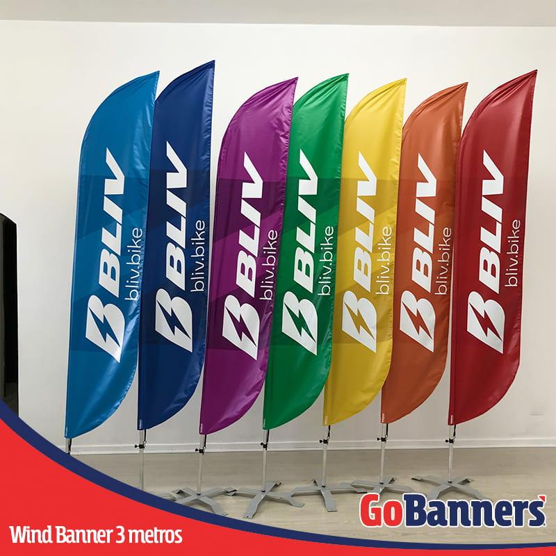 Durabilidade dos Banners Wind Banner Bliv