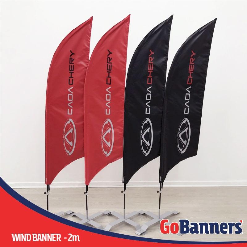 Durabilidade dos Banners Wind Banner Caoa Chery