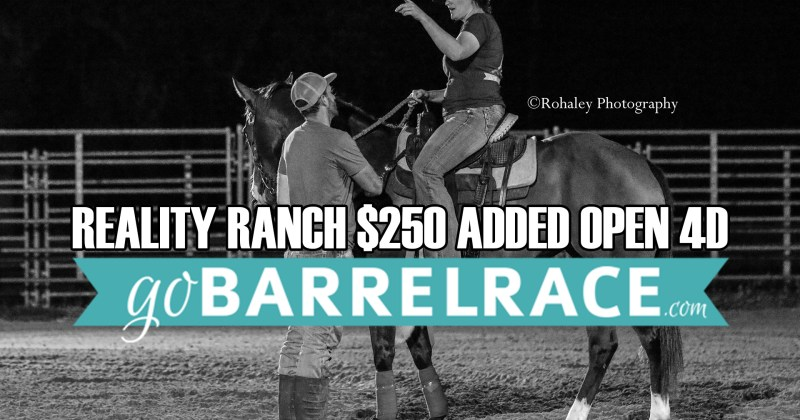 July Reality Ranch Results