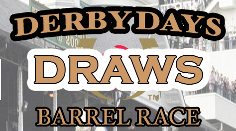 2020 Derby Days Draws