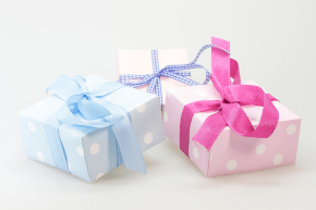 Giving - gift by blickpixel CC0 Public Domain from Pixabay