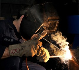 Welding - Worker by skeeze CC0 Public domain from Pixabay Common Language