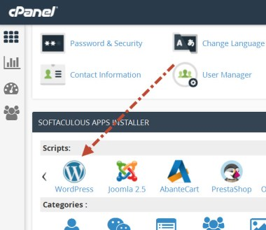 cpanel-wordpress-installation