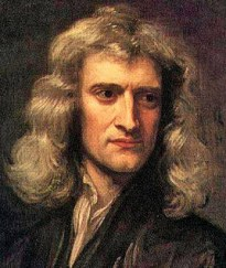 Isaac Newton coutesy Portrait of Newton in 1689 by Godfrey Kneller