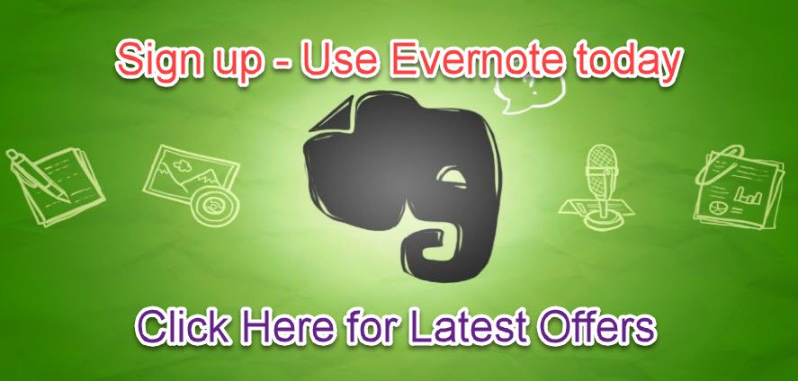 Use Evernote - Elephants never forget