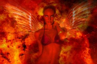 Sins of blogging - Winged Devil by muratortasil cc0 Public Domain from Pixabay