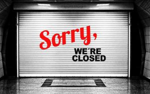 Sorry were closed by Geralt CC0 Public Domain from Pixabay