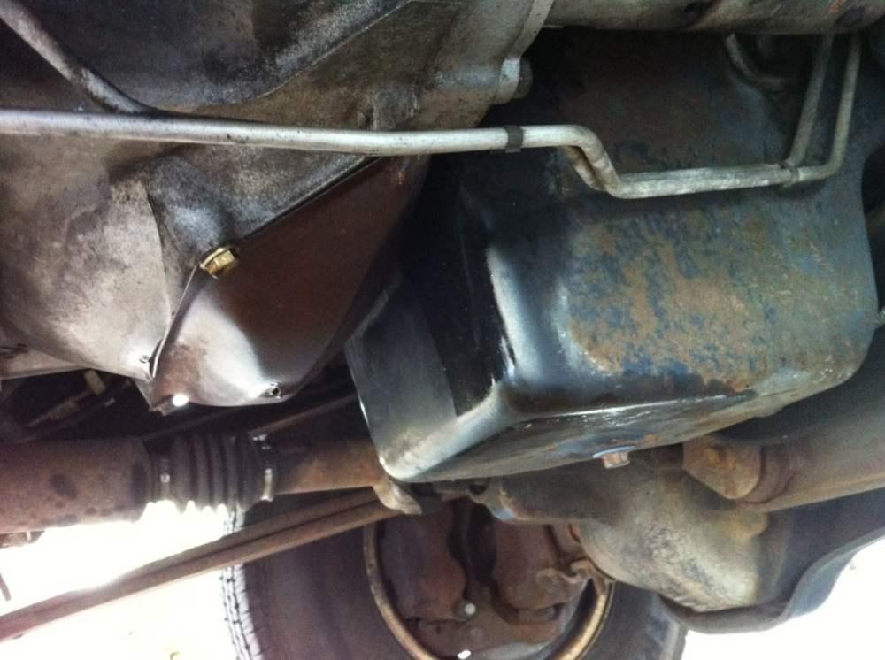 medium resolution of replacing a rear main seal