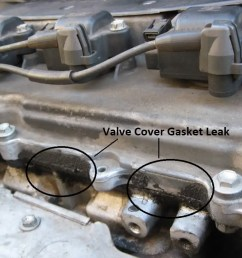 how to identify a valve cover gasket leak [ 1024 x 768 Pixel ]