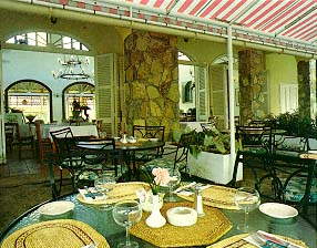 lawn chairs silver dining chair cushions la belle creole - nettle bay, st.martin