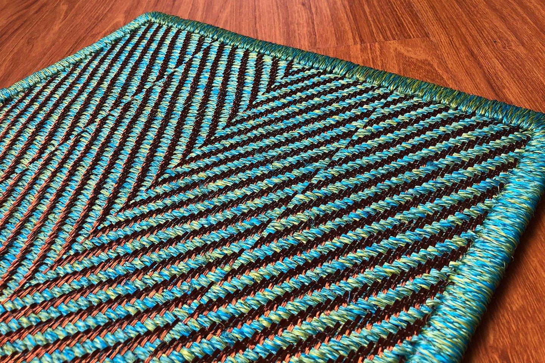 Gôbelins | Tapete Sharky | Gobelins Tapetes Artesanales Sharky fique e hilos de cobre 1